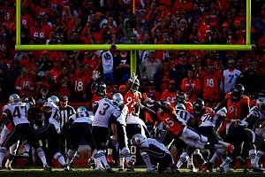 Extra Point Attempt-AFC Championship - New England Patriots v Denver Broncos