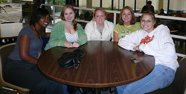 Picture of Samm at Brown College 2006