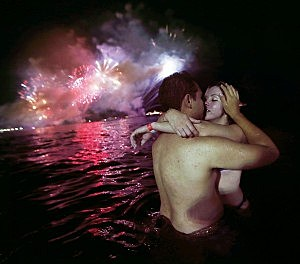 """Intimate couple, people feel lucky when they """"get lucky"""""""