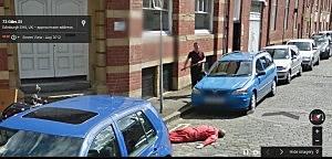 Fake Murder in Edinburch, Scotland