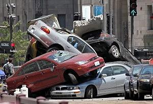 Car crash, things we do to avoid falling asleep behind the wheel