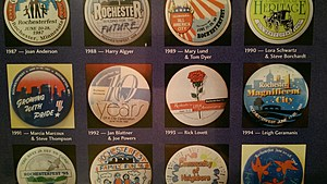Past Rochesterfest buttons