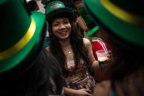 Singapore Celebrates St Patricks Day