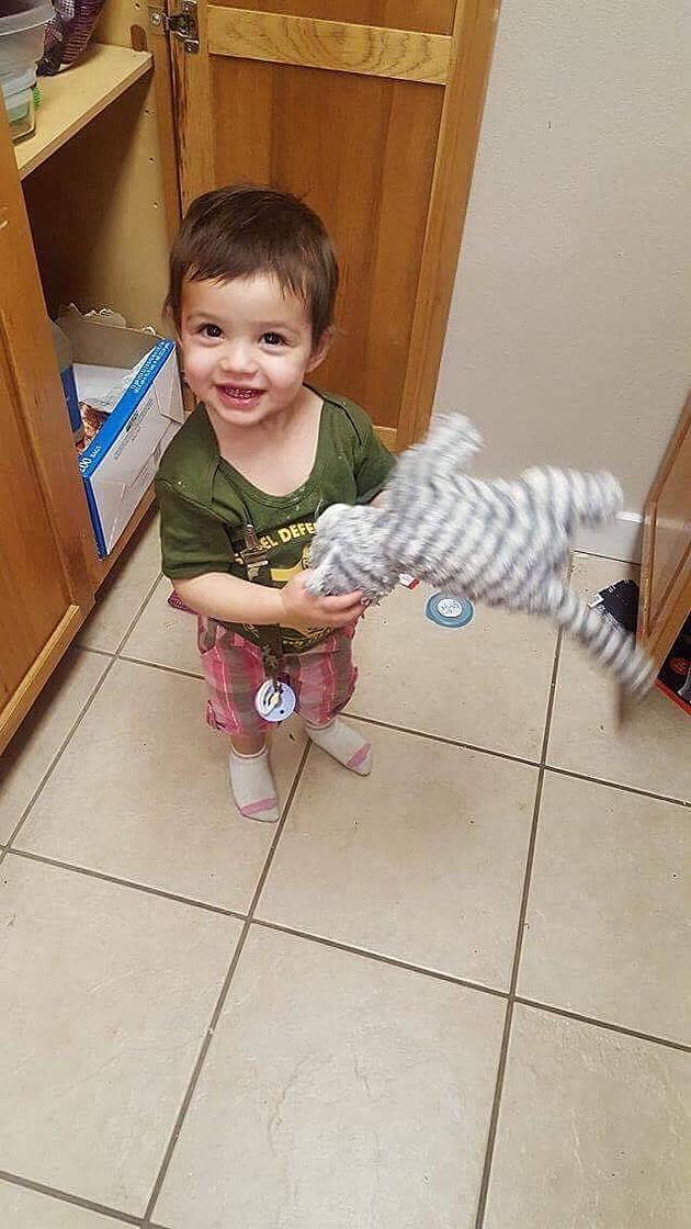 Child in Denver with Cora's #rak lovely