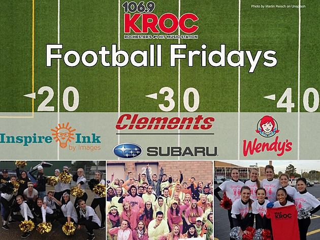 Football Fridays with 106.9 KROC