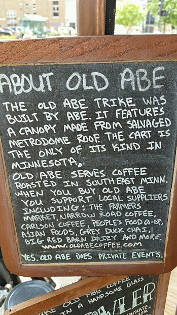 old abe about