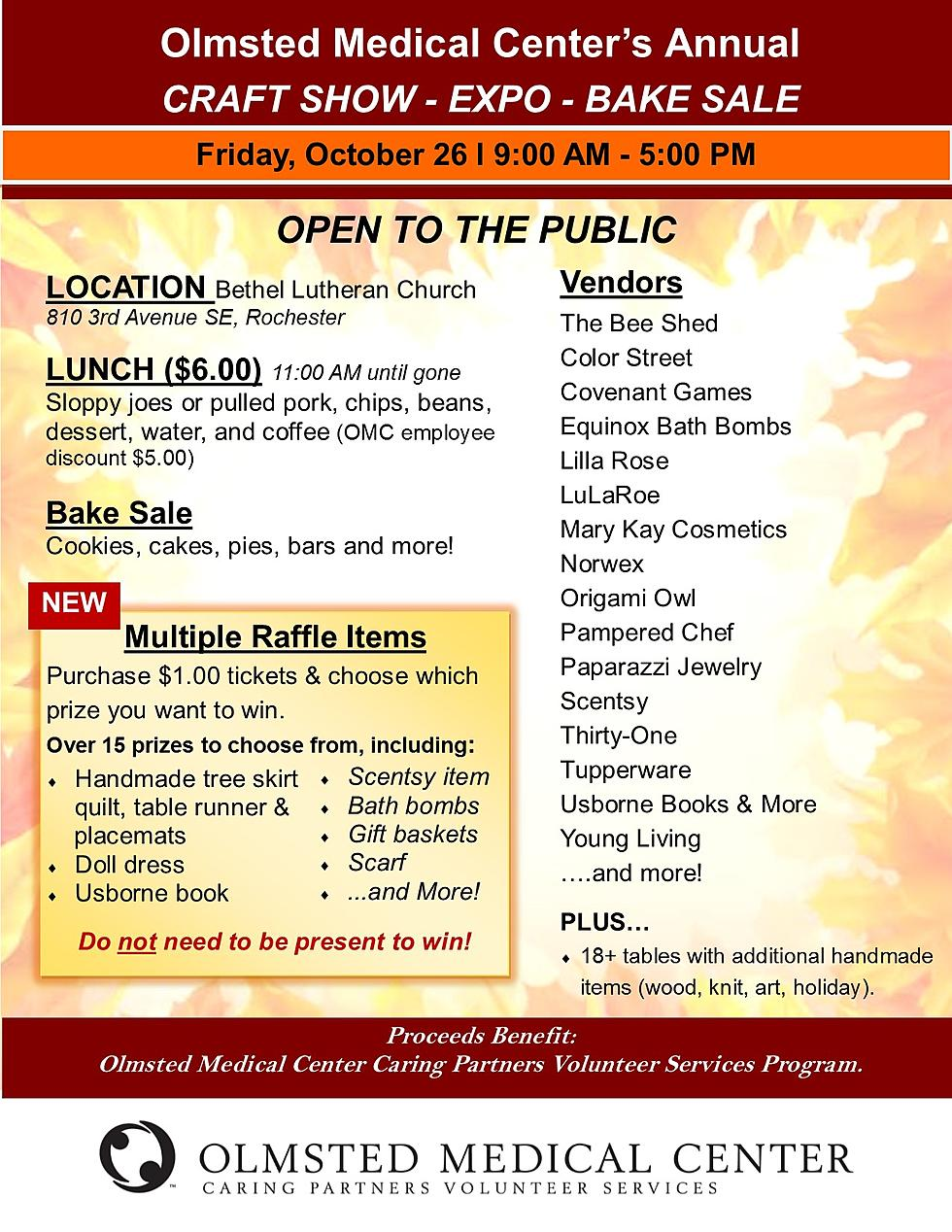 Olmsted Medical Center Craft Fair Expo